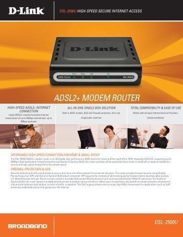 ADSL2+ MODEM ROUTER - ComX