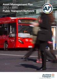 Asset Management Plan 2012 – 2015 Public Transport Network