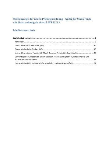 Gültig für Studierende mit Einschreibung ab ... - dis.uni-bonn.de