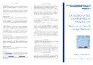 Brochure - Dipartimento di Filosofia - Università degli Studi di Firenze