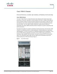 Cisco 7609-S Chassis - Used Network Equipment