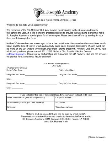 (Please turn over) Welcome to the 2011-2012 academic year. The ...