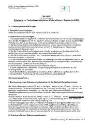 Merkblatt Zulassung zur PWBiSv Seite 1 von 4 Merkblatt Zulassung ...