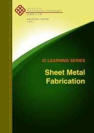 Sheet Metal Fabrication - The Hong Kong Polytechnic University