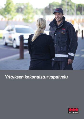 Yrityksen kokonaisturvapalvelu - Securitas