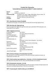 Protokoll vom 07.05.2013