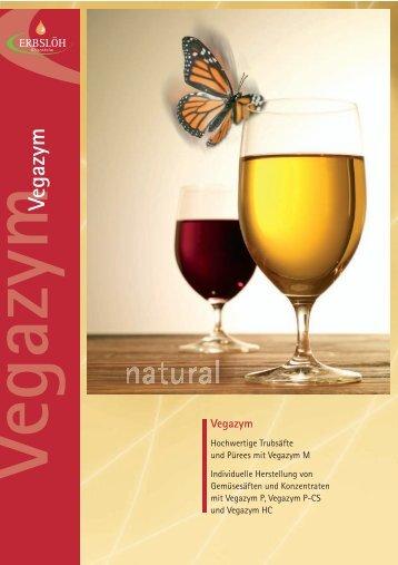 Vegazym - zur Herstellung von trubstabilen Frucht