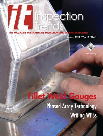Tips for Using Fillet Weld Gauges