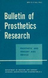 BPR 10-4 - Rehabilitation Research & Development Service