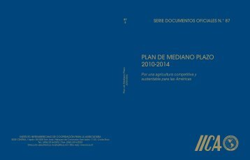 PLAN DE MEDIANO PLAZO 2010-2014 - Instituto Interamericano de ...