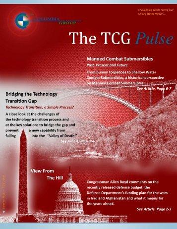TCG Pulse Summer 2008.pdf - The Columbia Group