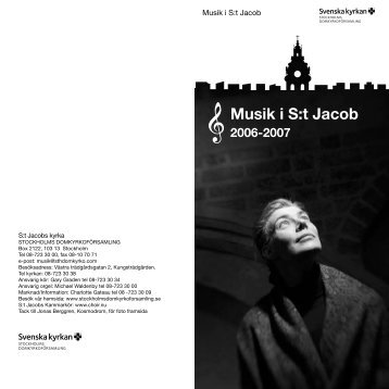 Musik i S:t Jacob 2006-2007