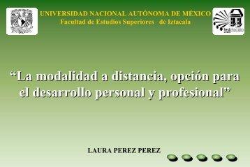 Presentación Power Point - cuaed - UNAM