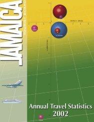 Annual Travel Statistics 2002.pdf - Jamaica Tourist Board