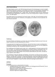 Plakette - Chorverband Friedrich Schiller