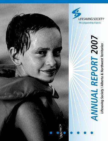 ANNUAL REPORT 2007 - Lifesaving Society