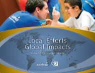 Local efforts, Global impacts