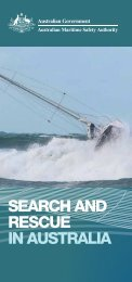 SEARCH AND RESCUE IN AUSTRALIA - Australian Maritime Safety ...