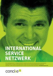 INTERNATIONAL SERVICE NETZWERK  - CONCISE