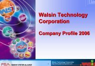 Walsin Technology Corporation - Ropla Elektronik Sp. z oo