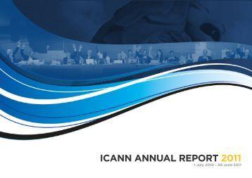 ICANN Annual Report 2011
