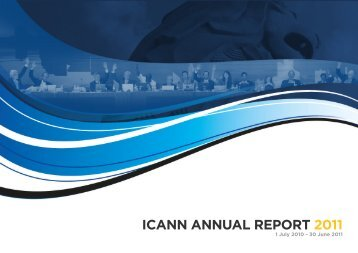 ICANN Annual Report 2011