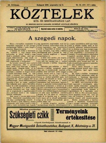 72—73. - Országos Mezőgazdasági Könyvtár