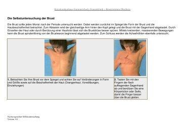 Die Selbstuntersuchung der Brust