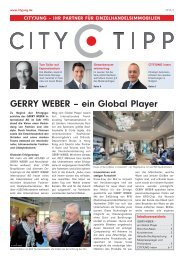 GERRY WEBER – ein Global Player - Cityjung Immobilien