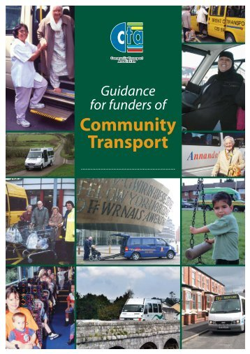 CTA Funders Guide - Richard Armitage Transport Consultancy Limited