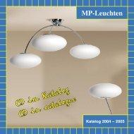 Katalog 2004-2005 für download - MP-Leuchten