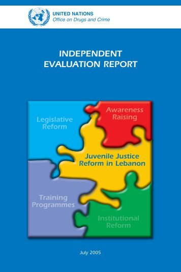 independent evaluation report - United Nations Office on Drugs and ...