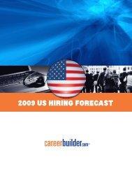 2009US Hiring forecaSt - Icbdr