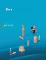 Filters and Degassers - ERC Gmbh