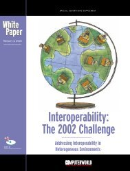 Interoperability: The 2002 Challenge - Computerworld