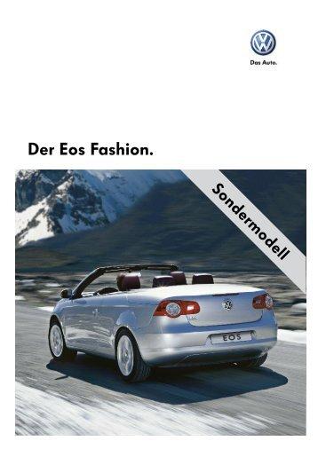 Der Eos Fashion. - Sprüngli Druck AG