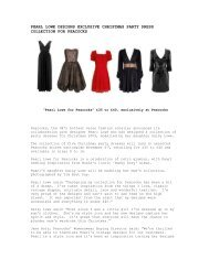 pearl lowe designs exclusive christmas party dress collection - ZPR