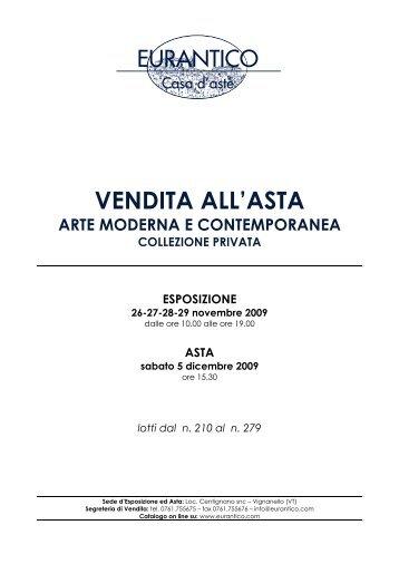 CATALOGO ARTE 210x297:EURANTICO 210X297