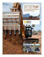 Pima Association of Governments 2011-2015 TIP Projects ...