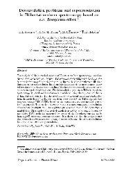 Deconvolution problems and superresolution in Hilbert-transform ...