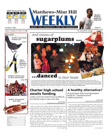 sugarplums ... - Carolina Weekly Newspapers