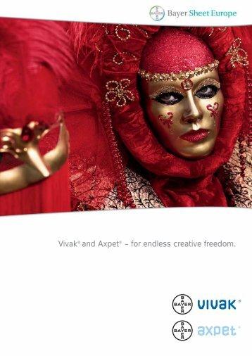Vivak® and Axpet - A Bayer MaterialScience Company