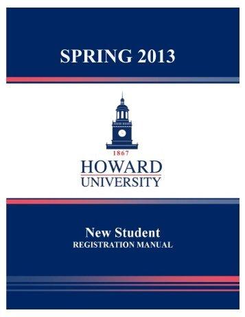 SPRING 2013 - Howard University