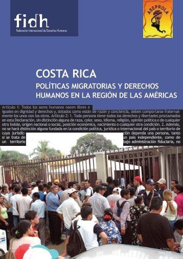 Costa RiCa - FIDH