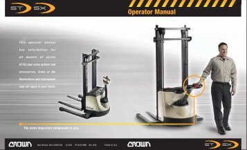 Operator Manual - Crown Equipment Corporation