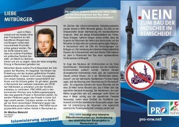 Petition-Remscheid - Pro NRW