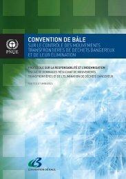CONVENTION DE BÂLE - Basel Convention