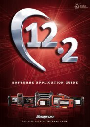 Snap-on Has A Comprehensive Programme Of TechEd - S.A.E.P. ...