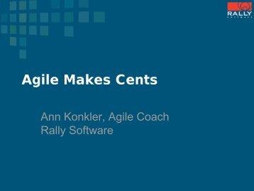 Ann Konkler, Rally Software - AccuRev