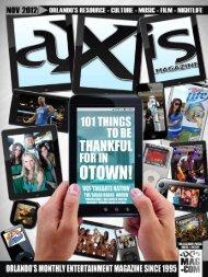 November 2012 - aXis Magazine